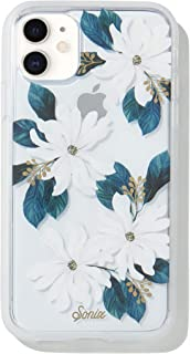 Sonix Delilah Flower Case for iPhone 11 [Military Drop Test Certified] Women's Protective White Floral Clear Case for Apple iPhone XR, iPhone 11