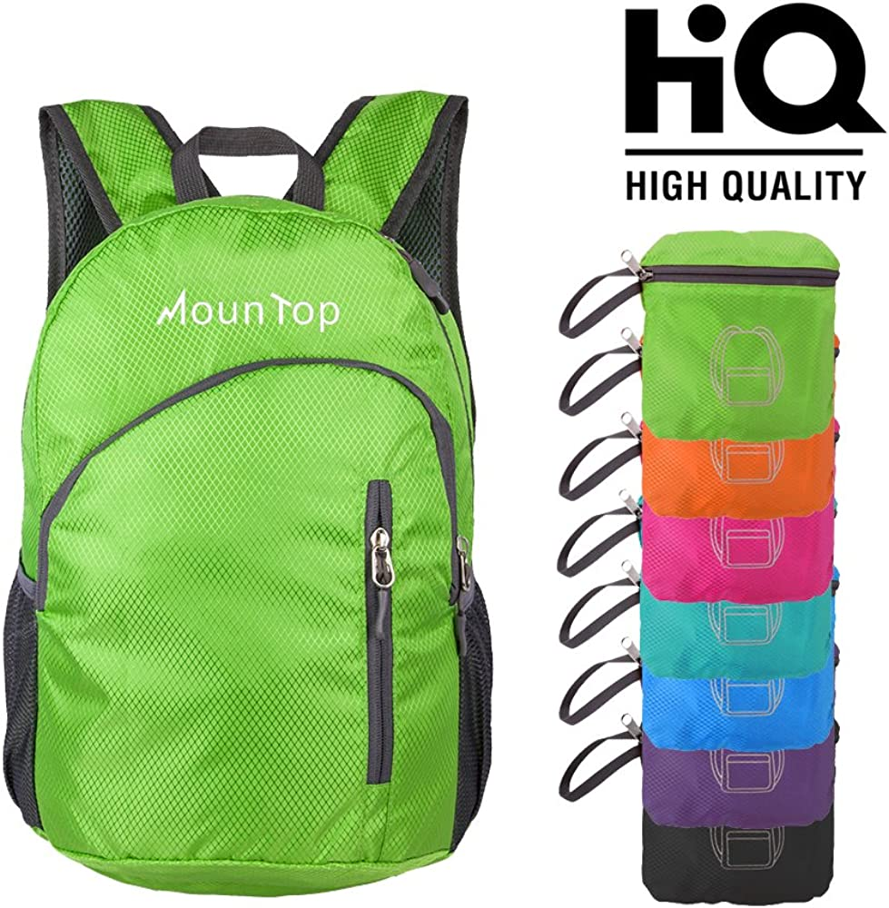 All stores are sold MounTop Outdoor Lightweight Foldable Backpack Genuine Resistant Water fo