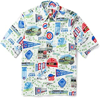 Men's Chicago Cubs MLB Classic Fit Hawaiian Shirt