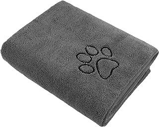 حوله سگ SUNLAND حوله فوق العاده جاذب حوله حمام خانگی میکرو الیاف حوله خشک کن سگ دو برابر برای سگ و گربه 30 اینچ x 50 اینچ