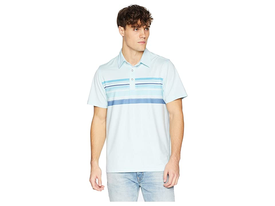 Toes on the Nose Horizon Polo (Cool Water) Men