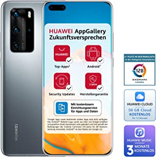Huawei 51095CAG Smartfon, Silver Frost