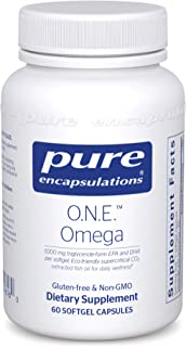 Sponsored Ad - Pure Encapsulations - O.N.E. Omega - Fish Oil Capsules to Support Cardiovascular, Joint, Cognitive, and Ski...
