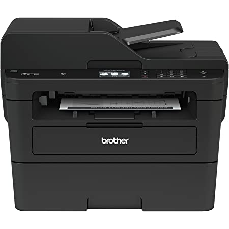 Brother MFCL2750DW Monochrome All-in-One Wireless Laser Printer, Duplex Copy & Scan, Amazon Dash Replenishment Ready , black