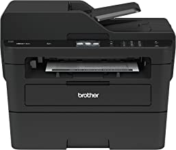 Brother MFCL2750DW Monochrome All-in-One Wireless Laser Printer, Duplex Copy & Scan,..