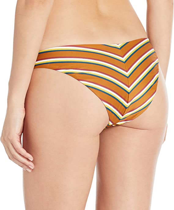 RVCA Womens Retro Row French Bikini Bottoms