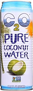C2O Pure Coconut Water, Unsweetened, 17.5 oz