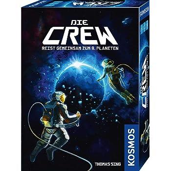 KOSMOS 691868 Die Crew - Reist gemeinsam zum 9. Planeten. Kooperatives  Kartenspiel als Weltraum-Abenteuer, für 2 - 5 Spieler, spannendes  Gesellschaftsspiel ab 10 Jahren