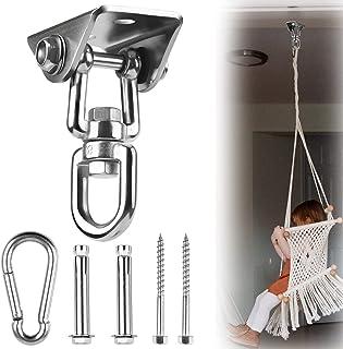 MEIXI Lourds Crochet de Plafond SUS304 Acier Inoxydable Suspension Trainer Kit de Suspension pour Chaise Accrochante Sac d...