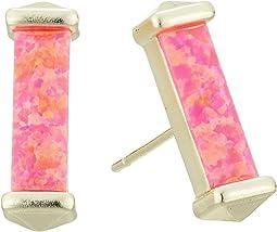 Gold/Hot Pink Opal