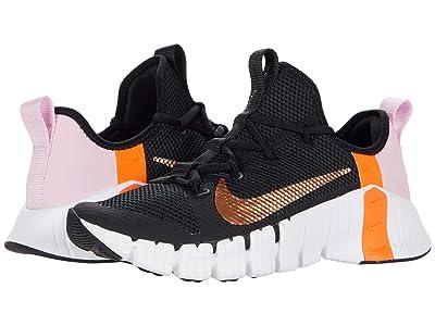 Nike Free Metcon 3 (Black/Metallic Copper/Light Arctic Pink) Women