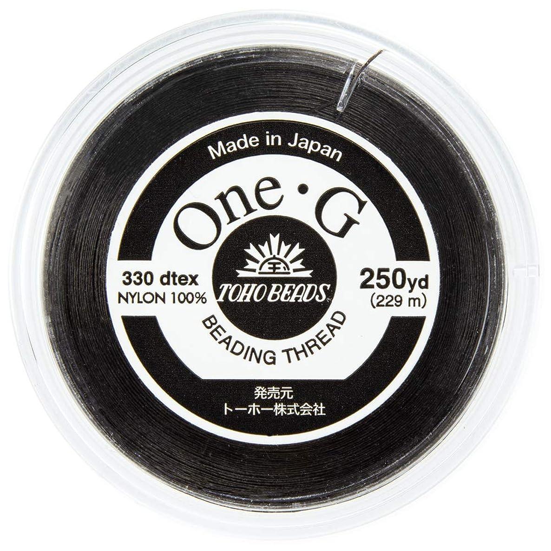 Toho One-G Beading Thread 250-Yard (228-Meter) Spool - Brown
