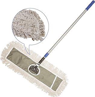 "2 Microfibra almohadillas 24 /""Real limpia comercial fregona Kit De Marco Polo"