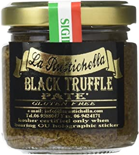 La Rustichella Black Truffle Pate, 3.2 Ounce