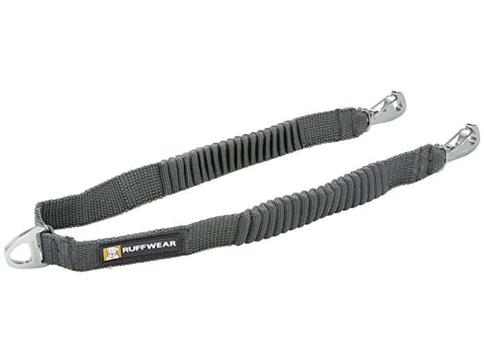 Double Track Coupler Leash Granite Gray