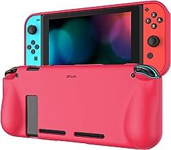 JETech Coque de Protection pour Nintendo Switch 2017, Shock-Absorption et Anti-Rayures, Prune