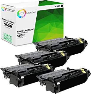 TCT Premium Compatible Toner Cartridge Replacement for Dell 330-9788 Black High Yield Works with Dell 5530DN, 5535DN Printers (25,000 Pages) - 4 Pack