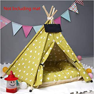 Pet Dog Tent House Breathable Print Pet Cat House with Net Outdoor Indoor Mesh Cat Small Dog Tent House
