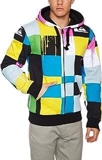 Quiksilver Hood Zip Sweat All Over 5 Mens Sweatshirt