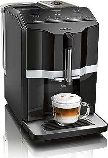 Siemens EQ.300 TI351509DE - Cafetera automática, tamaño compacto, fácil de usar, 1300 W, color negro