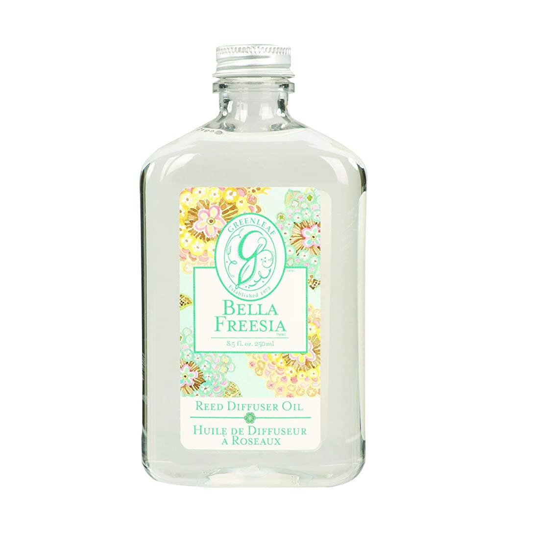 実行可能名声融合GREEN LEAF REED DIFFUSER OIL REFILL BELLA FREESIA
