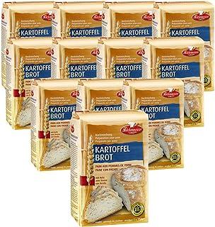 BIELMEIER KÜCHENMEISTER Brotbackmischung Kartoffelbrot 12 Stück á 1000 g made in Germany