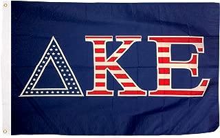 Delta Kappa Epsilon USA Letter Fraternity Flag Greek Letter Use as a Banner 3 x 5 Feet Sign Decor DKE