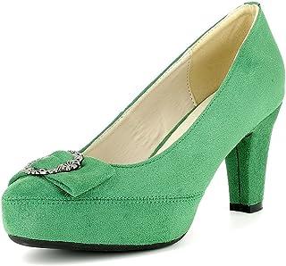 Suchergebnis auf für: trachtenschuhe damen grün