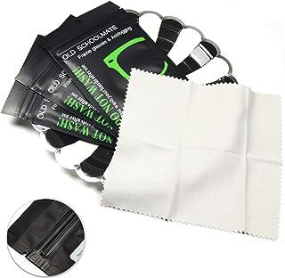 3 Pack Anti-Fog Lens Cleaner Cloths Reusable Glasses Wipes for Lenses, Glasses, Phone, LCD TV Screens, Car, Camera - Microfiber Glasses Cleaning Cloths