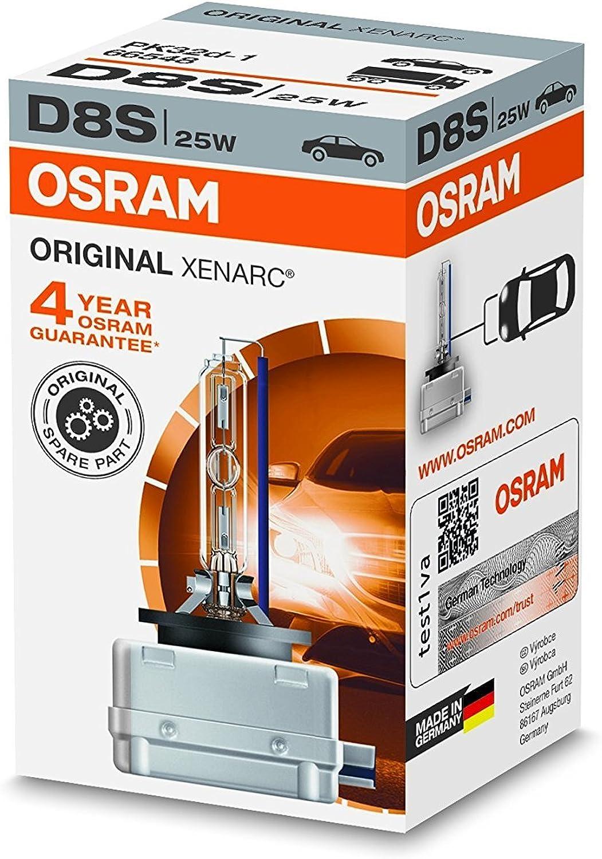 Osram XENARC Frontscheinwerfer D8S, 1er Faltschachtel