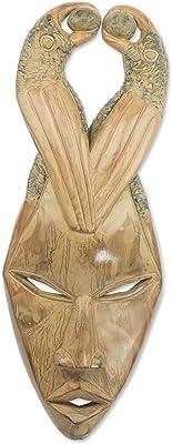 Amazon.com: ethnocraft Batik - Máscara decorativa, color ...
