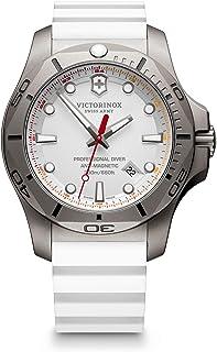 Victorinox - Hombre I.N.O.X. Professional Diver Titanium - Reloj de Caucho/Titanio de Cuarzo analógico de fabricación Suiza 241811