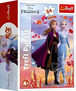 Frozen 2 Disney Elsa and Olaf Mini 54 Piece Puzzle