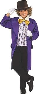 Rubie's Costume Kids Willy Wonka & The Chocolate Factory Willy Wonka Value Costume, Large