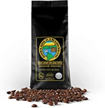 Kona Gold Coffee Whole Beans - 16 oz, by Kona Gold Rum Co. - Medium/Dark Roast Extra Fancy - 100% Kona Coffee