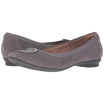 Clarks Candra Blush (Grey Suede) Women