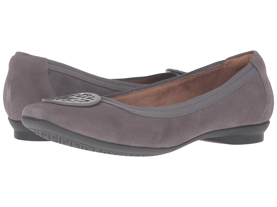Clarks Candra Blush (Grey Suede) Women