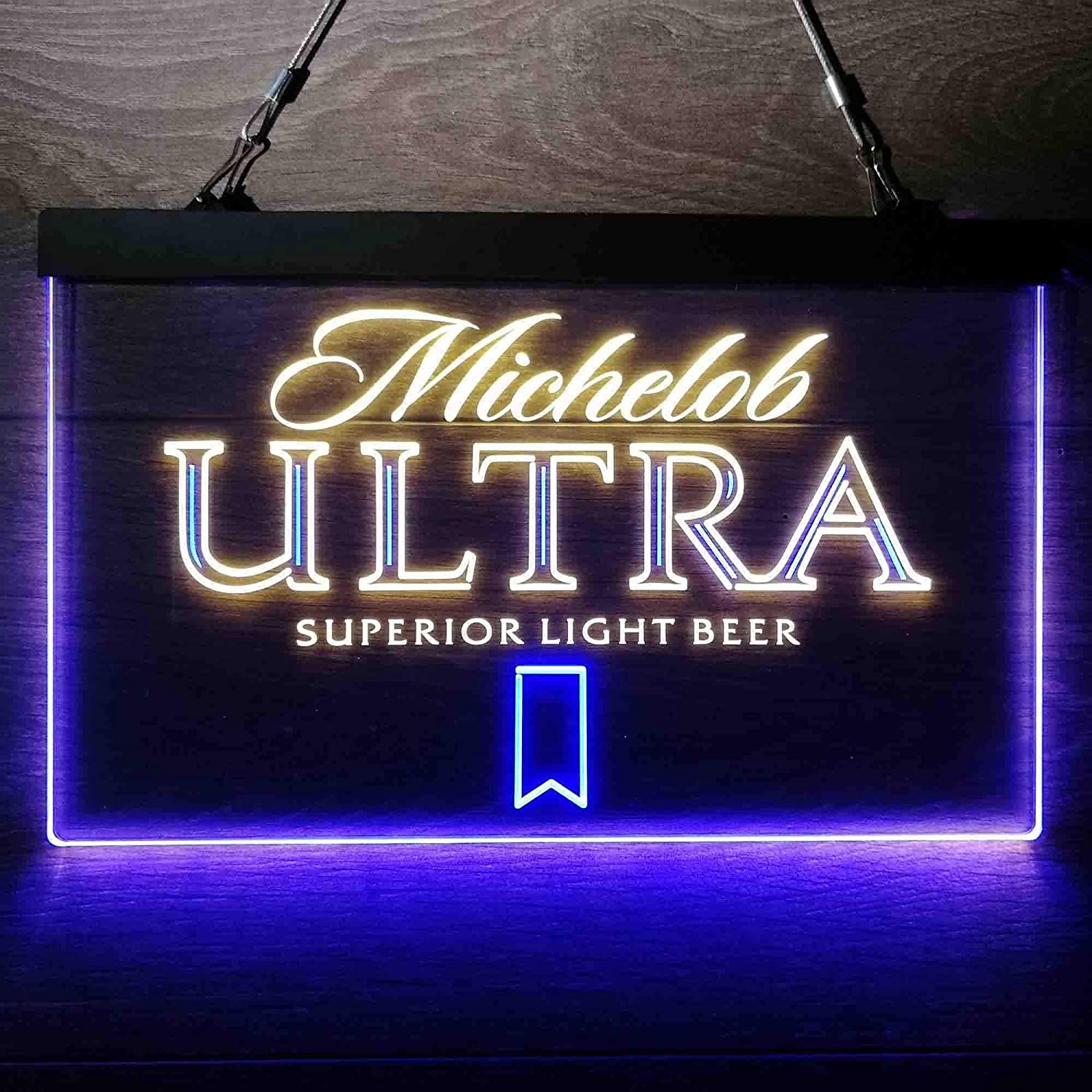 zusme Michelob Ultra Beer Colorful LED Neon Light Discount mail order Sign Cave Man Ranking TOP2