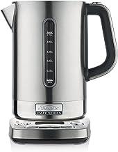 Sunbeam KE9650 Cafe Series QT Quiet Shield Kettle | 1.7L | 2.4kW | 5 Temperature Settings Smart Kettle | Quiet Boil | Coun...