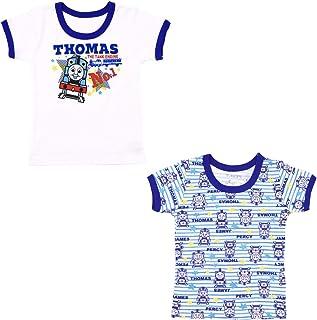 トーマス 半袖 インナー 丸首 Tシャツ 2枚組[845TM8400]
