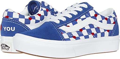 Vans Heart/True Blue (Comfycush Old Skool x Autism Awareness)