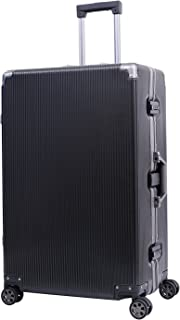 Aluminum Frame Luggage Hardside PC Carry On TSA Approved Spinner Suitcase 20