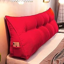 Duża trójkątna poduszka zagłówka, pozycjonowanie łóżka Długa poduszka podtrzymująca do czytania, zapinana na zamek poduszk...
