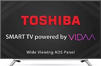 TOSHIBA 80 cm 32 inches Vidaa OS Series HD Ready Smart ADS LED TV 32L5050 Black 2020 Model