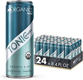 Organics by Red Bull Tonic Water 24 Pack of 8.4 Fl Oz, Organic Soda Drink