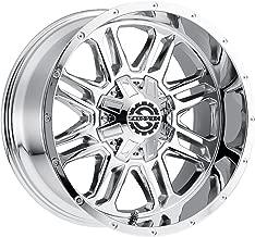 Scorpion Wheels SC21 20x12 Chrome 8x165 -44 Offset CB 125.2 Rim