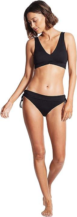 V-Neck Crop Bikini Top