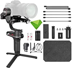 Zhiyun Weebill S with Zoom Controller Follow Focus Pro Kit 3-Axis Handheld Gimbal Stabilizer for DSLR Mirrorless Camera Canon 5DIV 5DIII EOS R Sony A7M3 A7R3 A7 III A9 Panasonic GH5s BMPCC 4K Nikon Z6