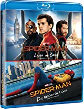 SPIDER-MAN COMBO: Spider-Man Lejos de Casa + Spider-Man De Regreso a Casa (Spider-Man Far From Home + Spider-Man Homecoming) BLU-RAY (Languages: English, Spanish & French) REGION FREE