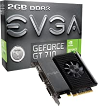 EVGA GT 710 2GB DDR3 64bit Single Slot, Dual DVI 02G-P3-2717-KR